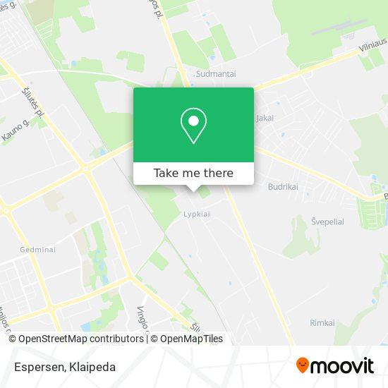 Espersen map
