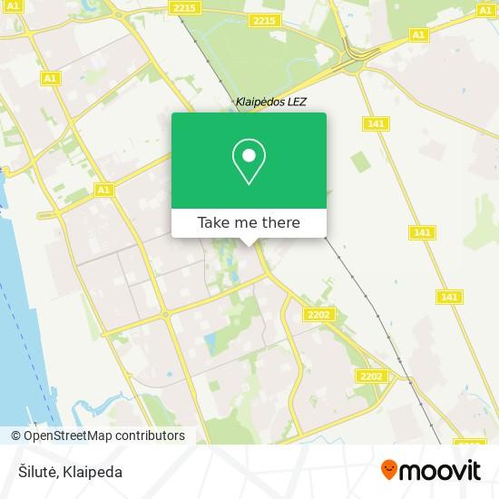 Šilutė map