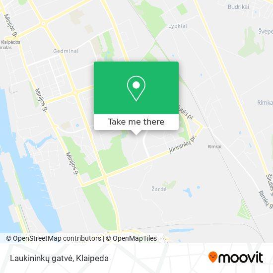 Laukininkų gatvė map