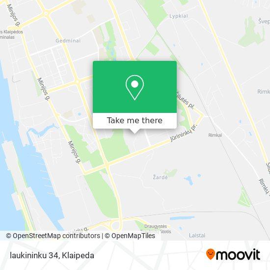 laukininku 34 map