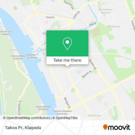 Taikos Pr. map