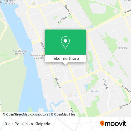 3-cia Poliklinika map