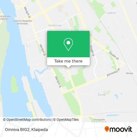 Omniva BIG2 map
