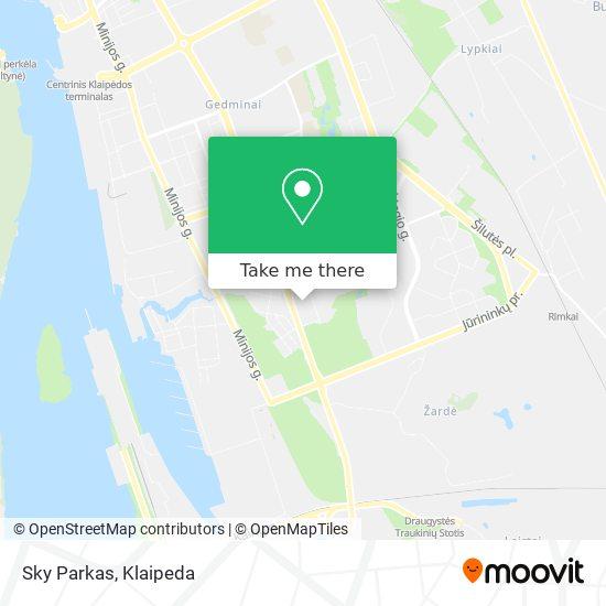 Sky Parkas map