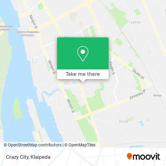 Crazy City map
