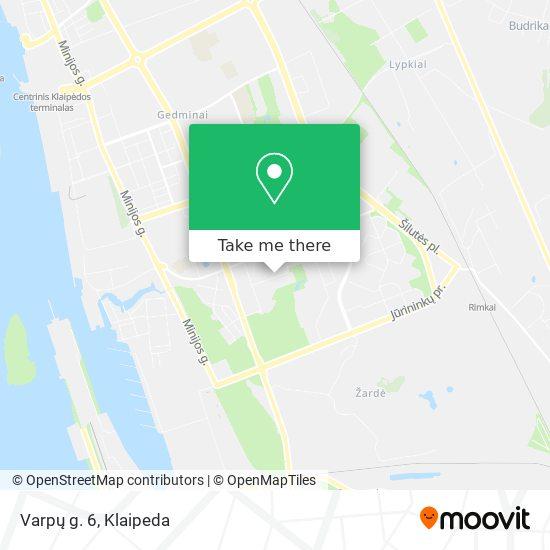 Varpų g. 6 map