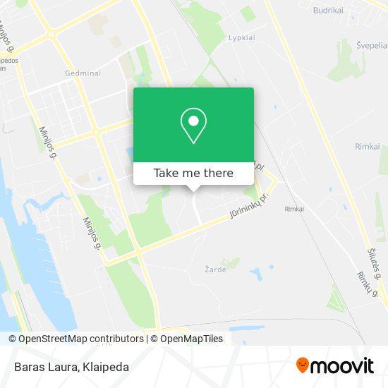 Baras Laura map