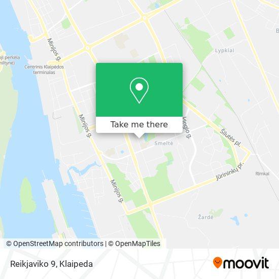 Reikjaviko 9 map