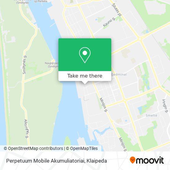 Perpetuum Mobile Akumuliatoriai map