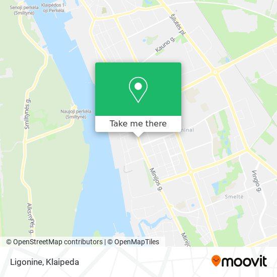 Ligonine map