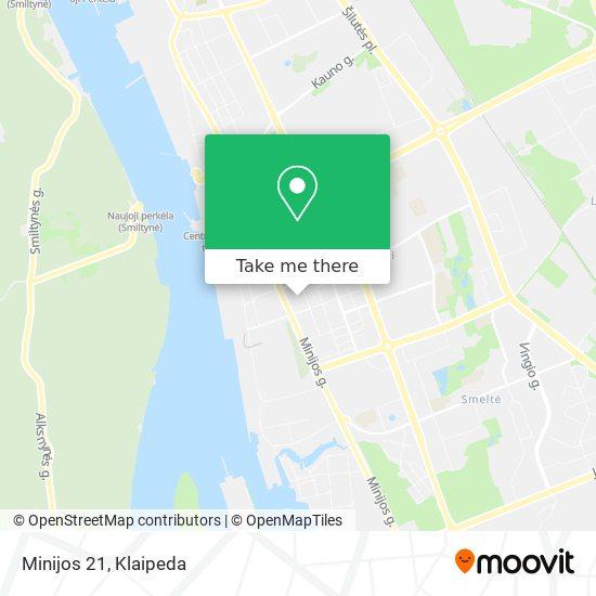 Minijos 21 map