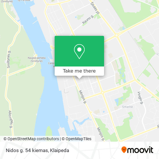 Nidos g. 54 kiemas map