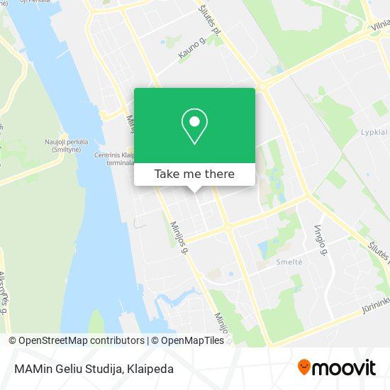 MAMin Geliu Studija map