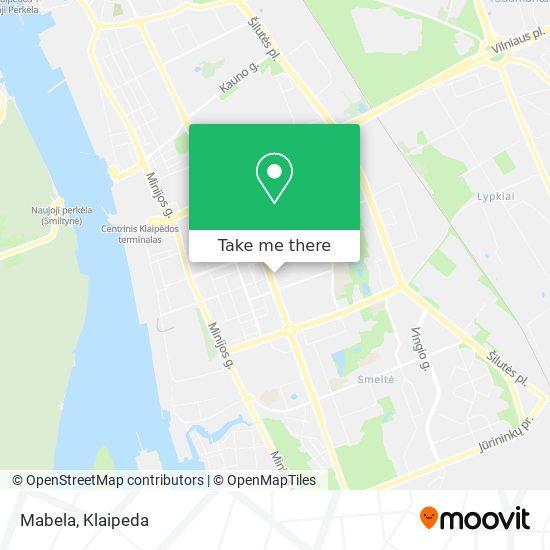 Карта Mabela
