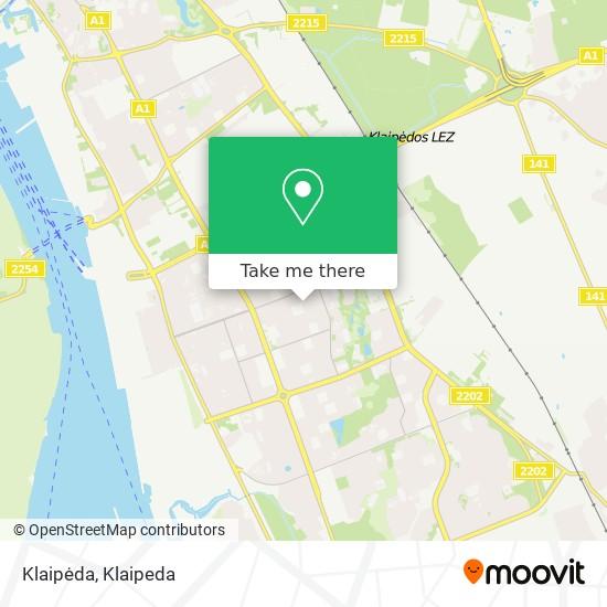 Klaipėda map