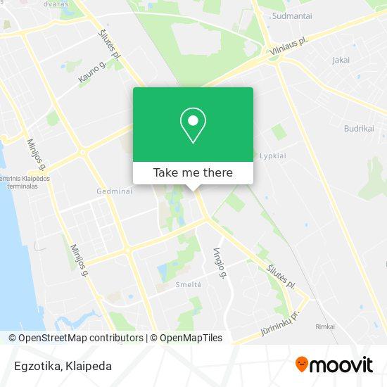 Egzotika map