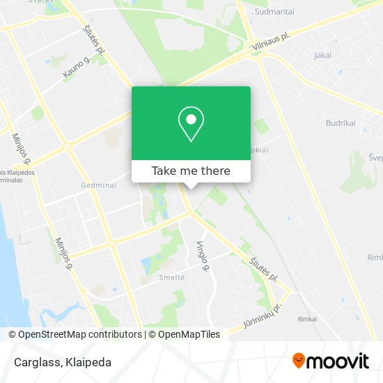 Carglass map