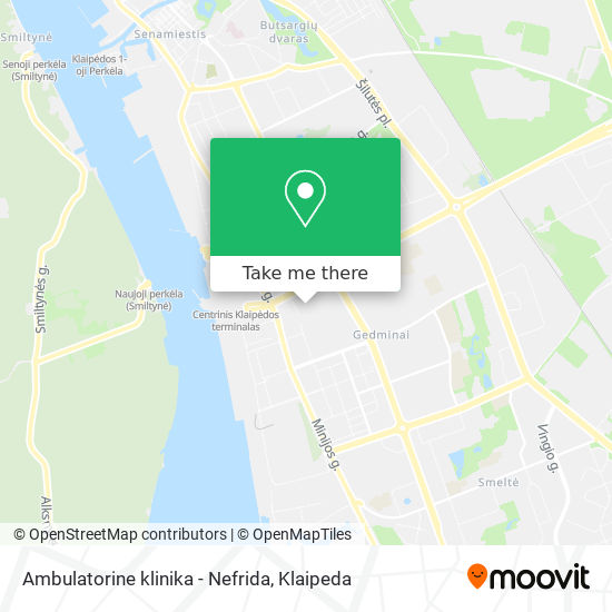 Ambulatorine klinika - Nefrida map