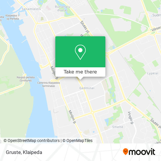 Gruste map