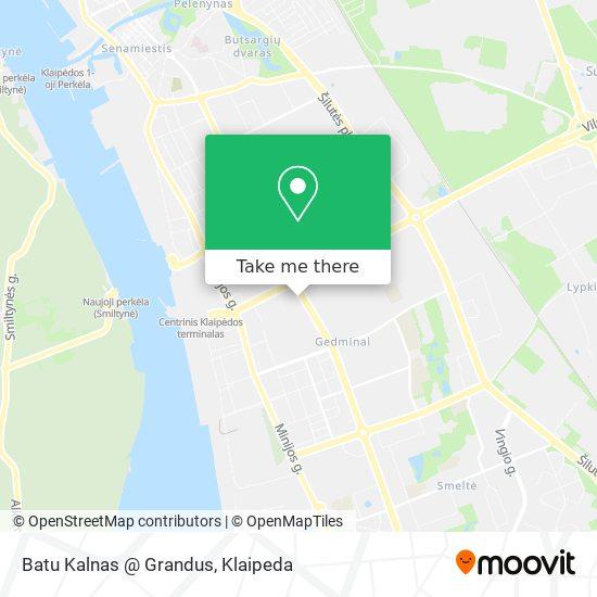 Batu Kalnas @ Grandus map