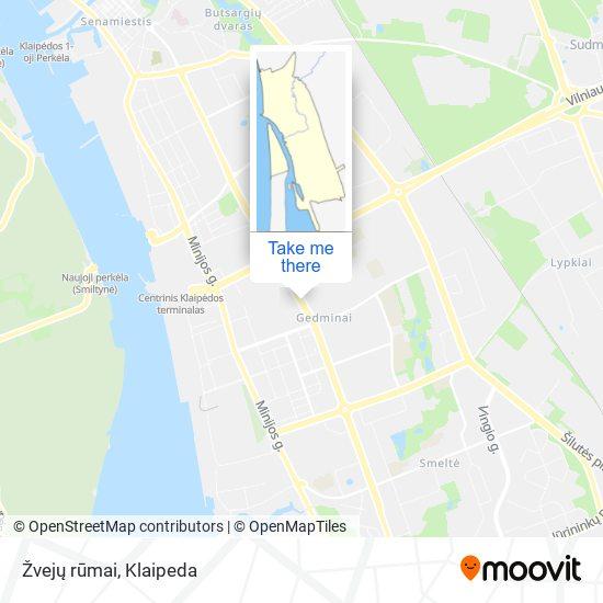 Žvejų rūmai map