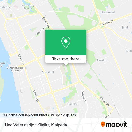 Lino Veterinarijos Klinika map
