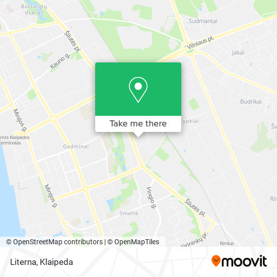 Literna map
