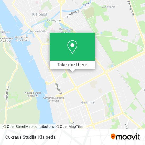 Cukraus Studija map