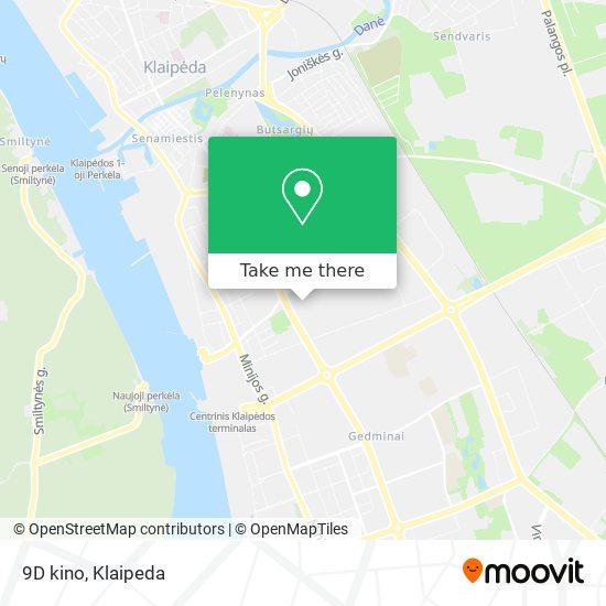 9D kino map
