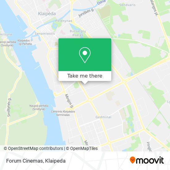 Forum Cinemas map