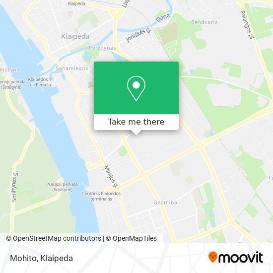 Mohito map