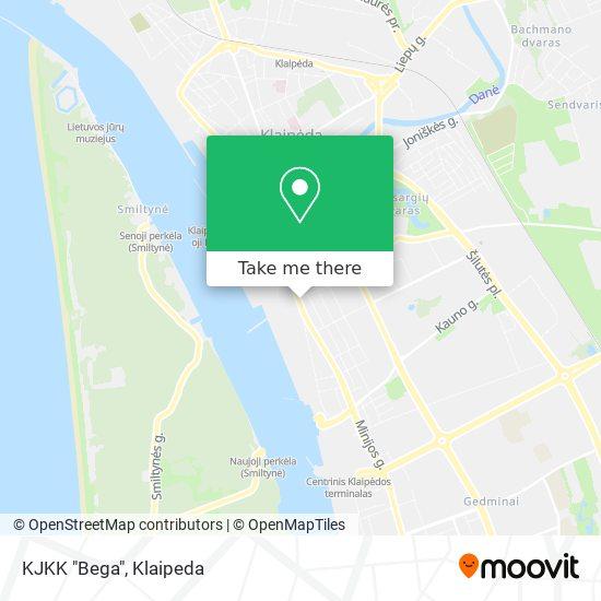 """KJKK """"Bega"""" map"""
