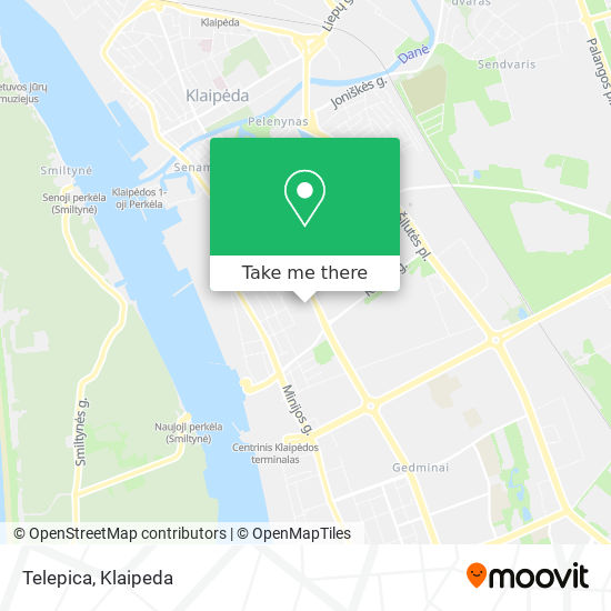 Telepica map