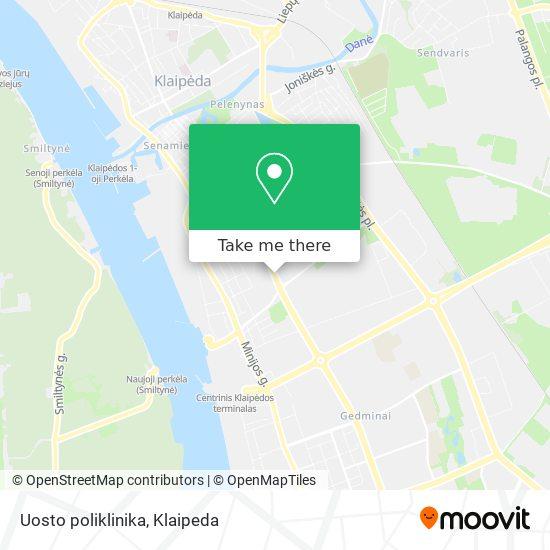 Uosto poliklinika map