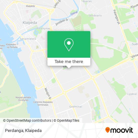 Perdanga map
