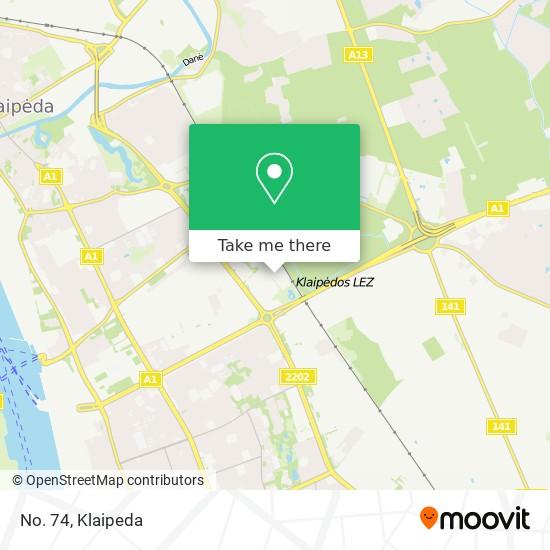 No. 74 map
