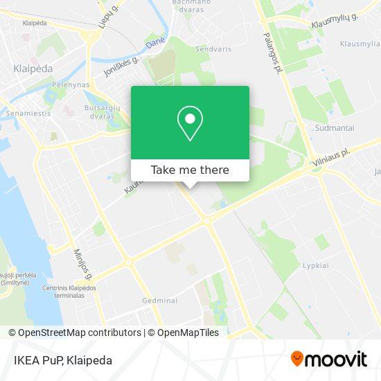 IKEA PuP map