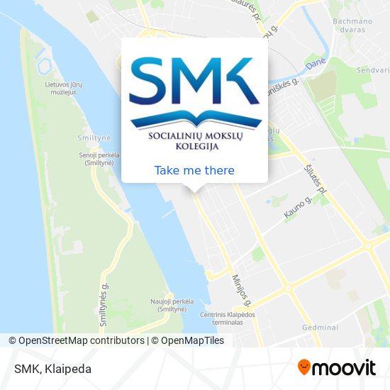 SMK map