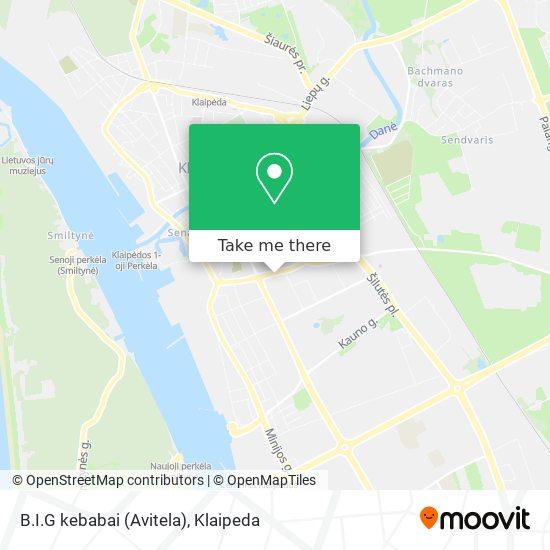 B.I.G kebabai (Avitela) map