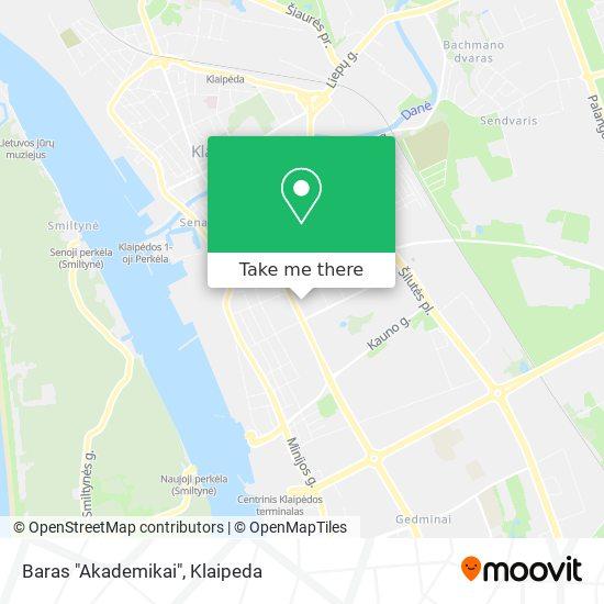"""Baras """"Akademikai"""" map"""