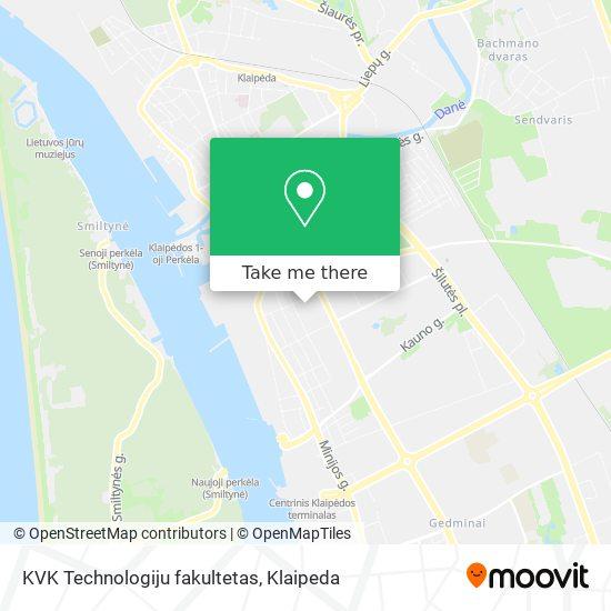 KVK Technologiju fakultetas map