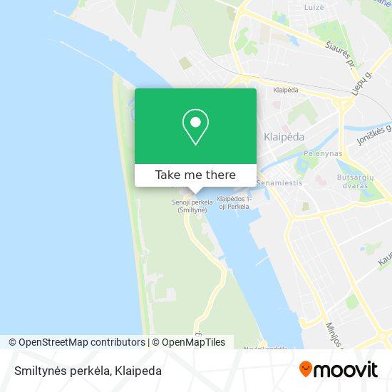 Smiltynės perkėla map
