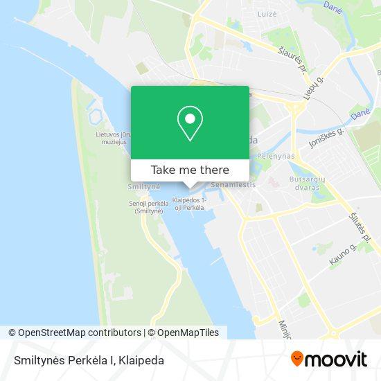 Smiltynės Perkėla I map