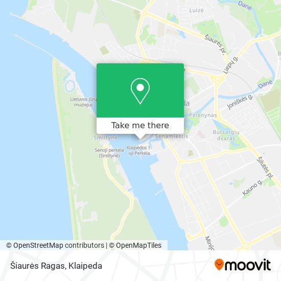 Šiaurės Ragas map