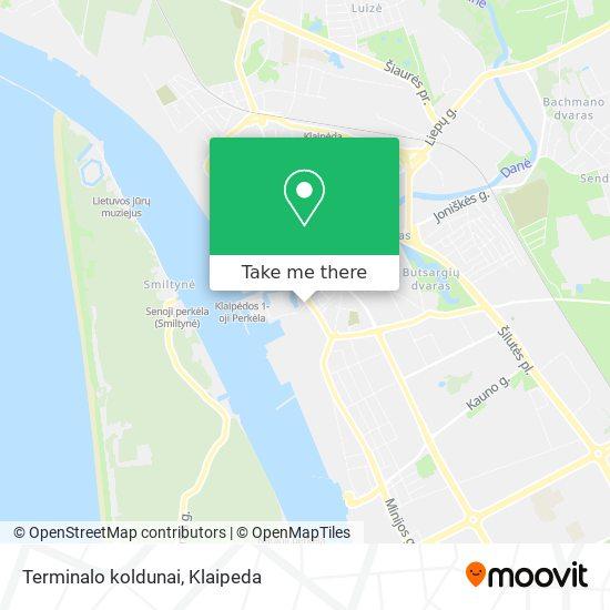 Terminalo koldunai map