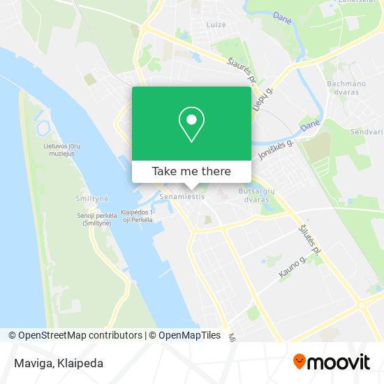 Maviga map
