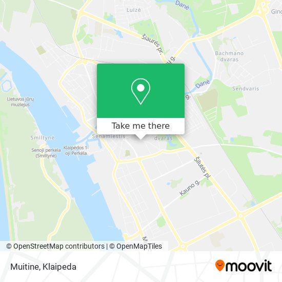 Muitine map