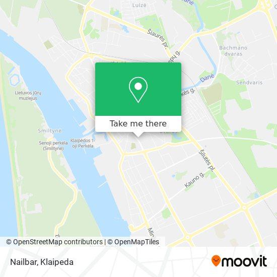 Nailbar map