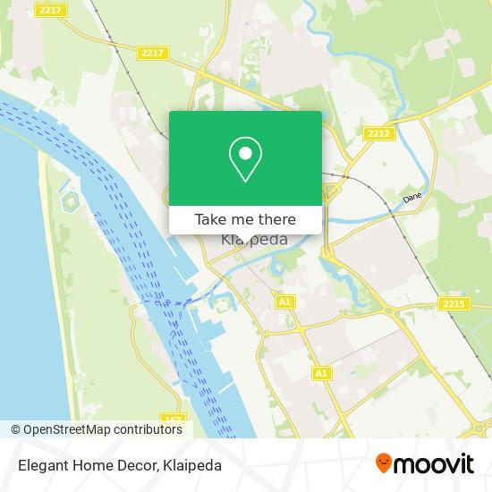 Elegant Home Decor map