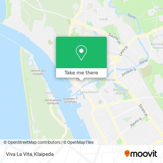 Viva La Vita map